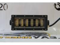 Фара светодиодная CH1980 48W 6 диодов по 8W ((габаритные размеры 113*90*270мм цветовая температура 6000K 60° ближний свет, 30° дальний свет)